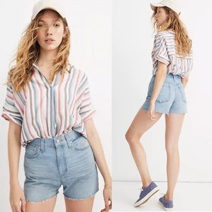 Madewell NWT The Perfect Vintage Jean Short Sz 30